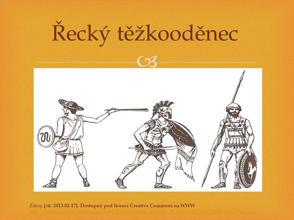 Řecký těžkooděnec Zdroj: [cit. 2013-02-17]. Dostupný pod licencí Creative Commons na WWW.
